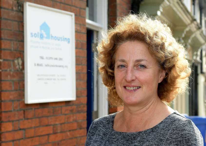 Diss, Norfolk. UKSOLO Housing new CEO, Carolyn ??Howell. ''Picture: MARK BULLIMORE