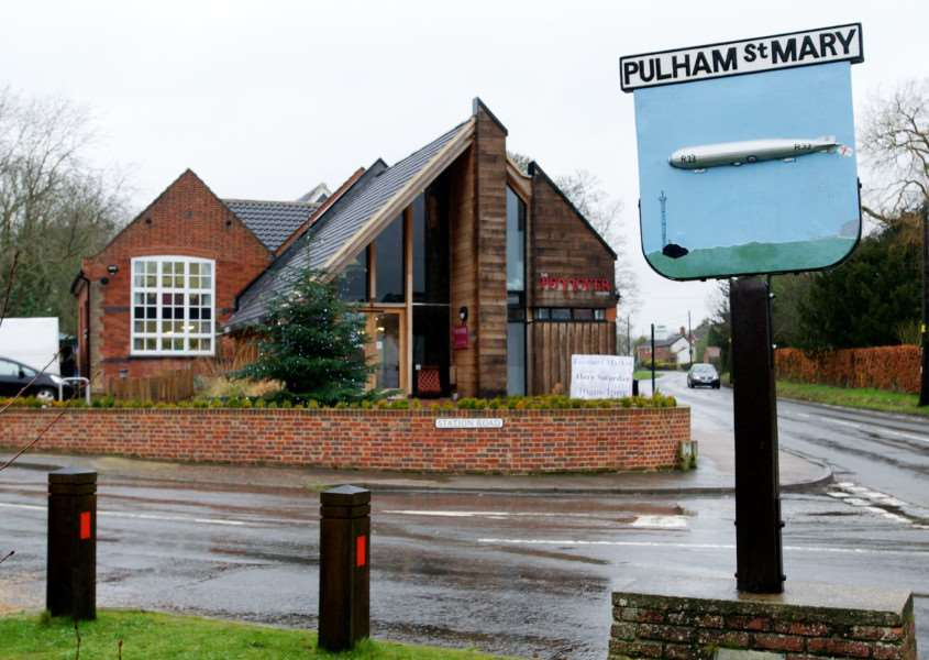 Pulham St Mary, Norfolk. The Pennoyers Centre in Pulham St Mary ENGANL00120121224095115