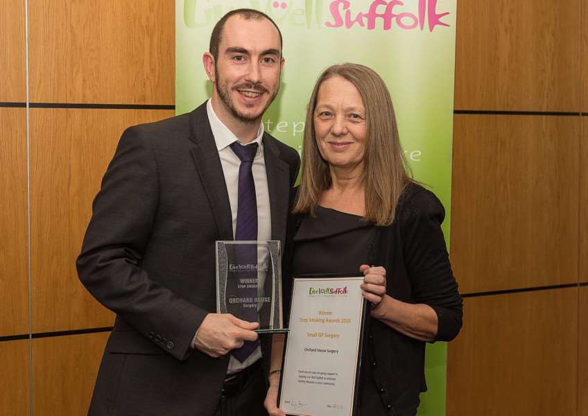 Live Well Suffolk Stop Smoking Awards Night - Portman Road Stadium, Ipswich - 28/01/2016 - Photo by: Richard Blaxall ANL-160102-161822001