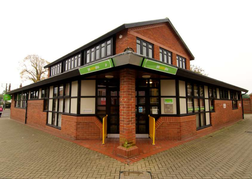 The Jobcentre Plus in Diss