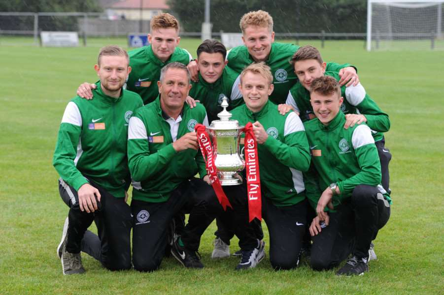 WAIT IS OVER: Framlingham will be playing in the FA Cup for the first time in their 130-year history