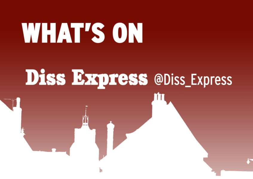 Latest What's On News from the Diss Express, dissexpress.co.uk, @diss_express on Twitter