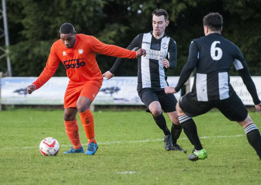 POOR RUN: Virgilio Leitao scored for Diss the last time they faced AFC Sudbury Reserves