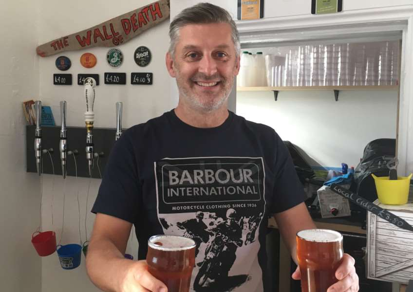 Dan Steggles at the recently opened Jolly Porter at Diss rail station. ANL-161207-104913001