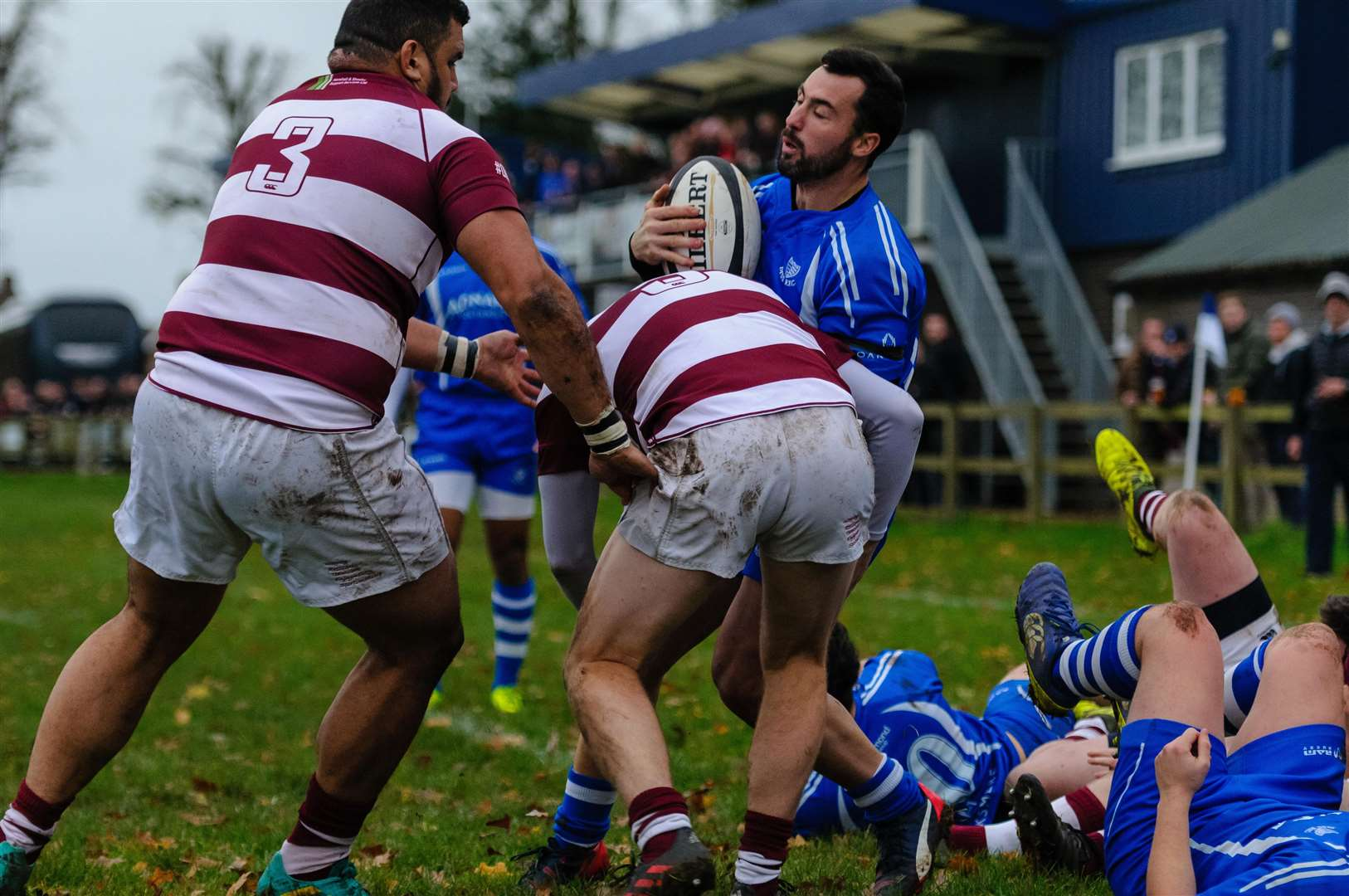 Rugby action from Diss v Ruislip - Marco Mongia..Picture by Mark Bullimore Photography. (5873089)