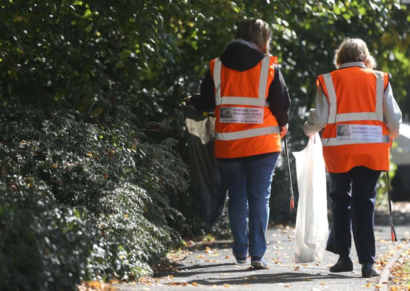Litter pick launches next month
