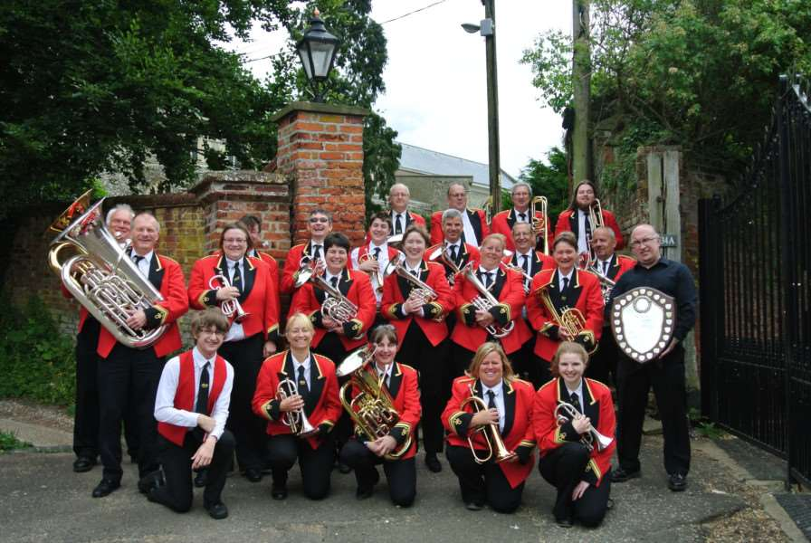 Castleton Brass band. Submitted photo.