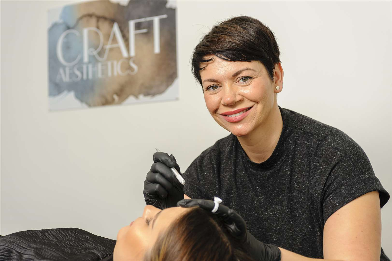 A NATURAL: Andrea Orton of Craft Aesthetics in Diss, who's offering microblading. Picture by Mark Bullimore.