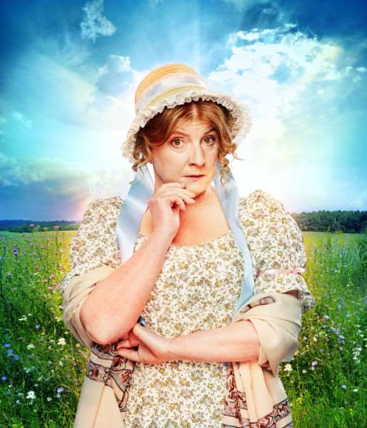 Felicity Montagu as Mrs Bennett in Pride and Prejudice. Picture by Simon Turtle and Feast Creative. PNL-160921-164556001