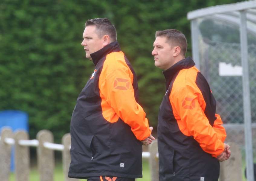 OUT OF FORM: Diss Town boss Jason Cook