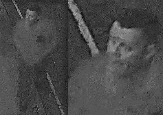 CCTV image of a man police would like to speak to in connection with a burglary at Eye Town Hall