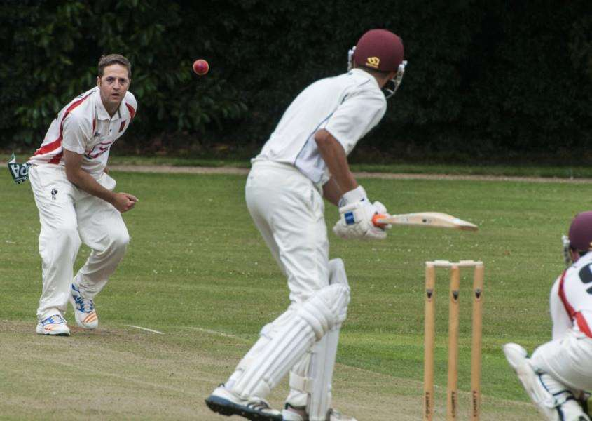 ON FORM: Mark Williamson took four wickets for Diss