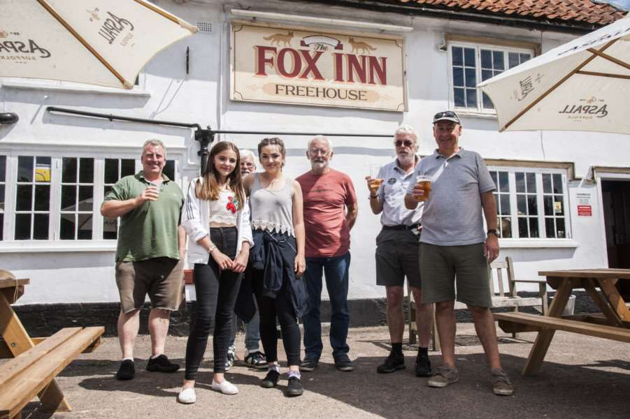 Beer festival at the Fox Inn, Garboldisham, to celebrate six months of trading. Beer, food and music.