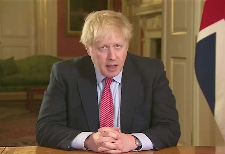 "Prime Minister Boris Johnson has said the coronaviurs pandemic has been an ""absolute nightmare""."