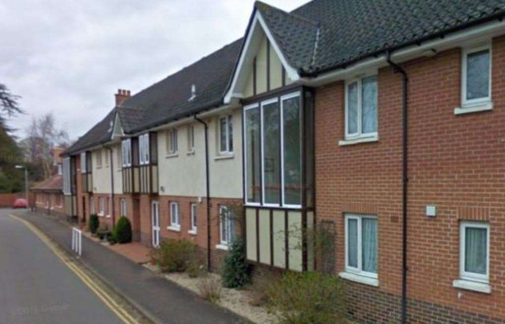 Weaver's Court in Diss. Image: Google