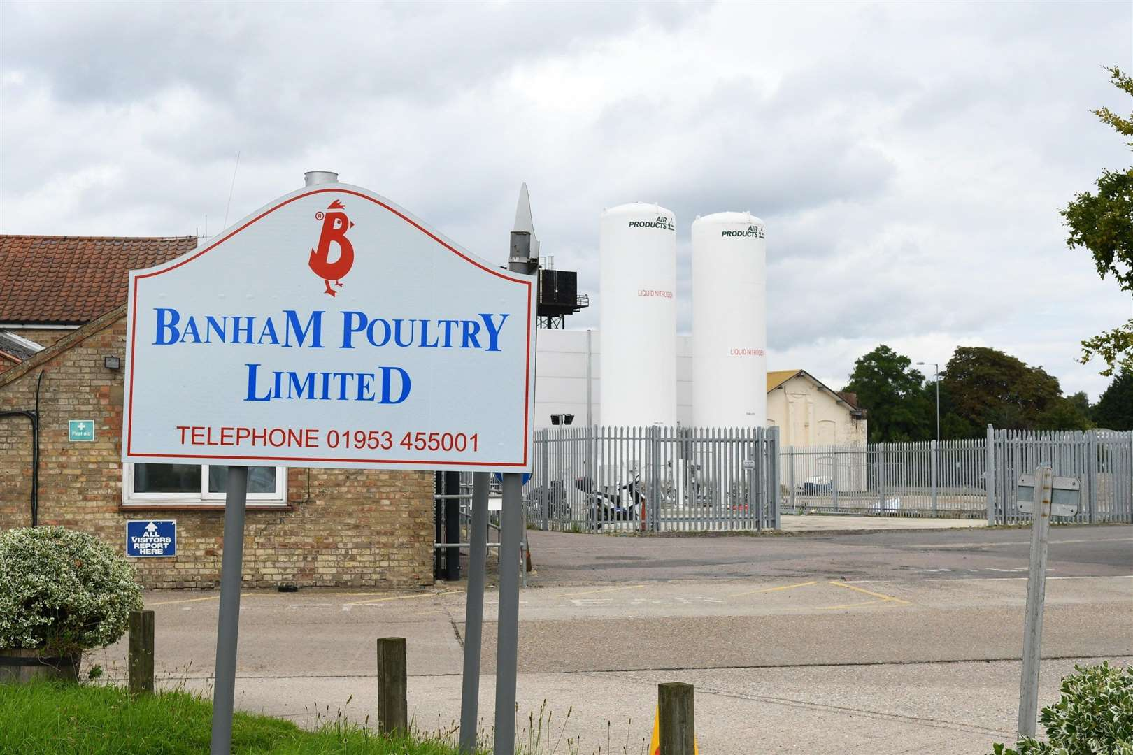 Banham Poultry in Attleborough. ..Picture: Mark Bullimore.