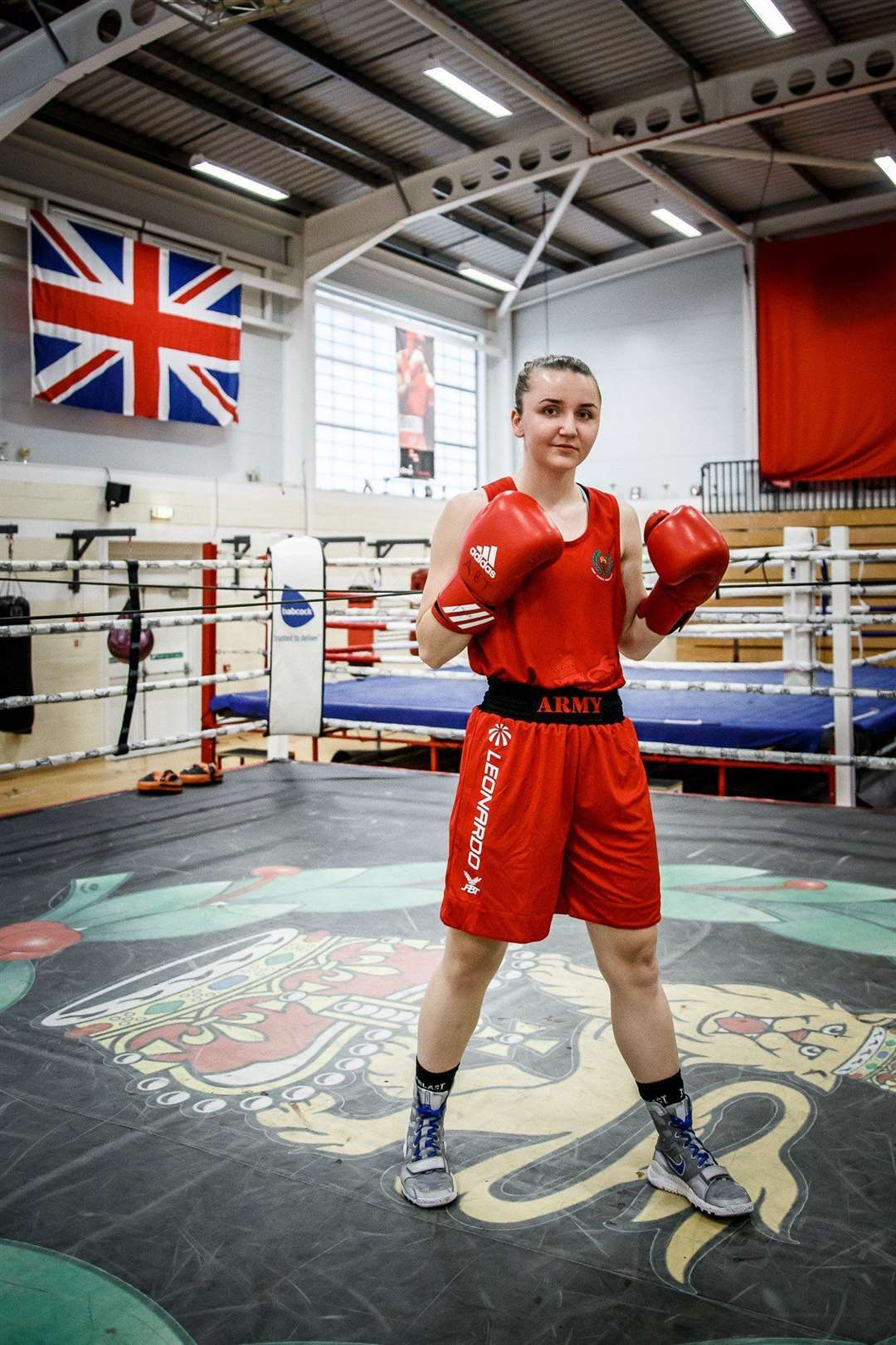 Lily Devlin who is part of the Bitish Army Boxing team.Picture submitted. (34962003)