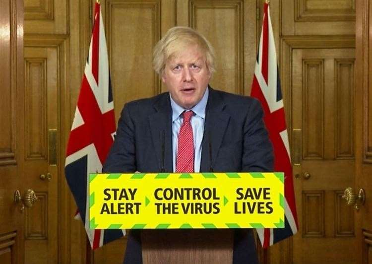 Boris Johnson has announced further measures to ease lockdown (PA Video) (37197228)