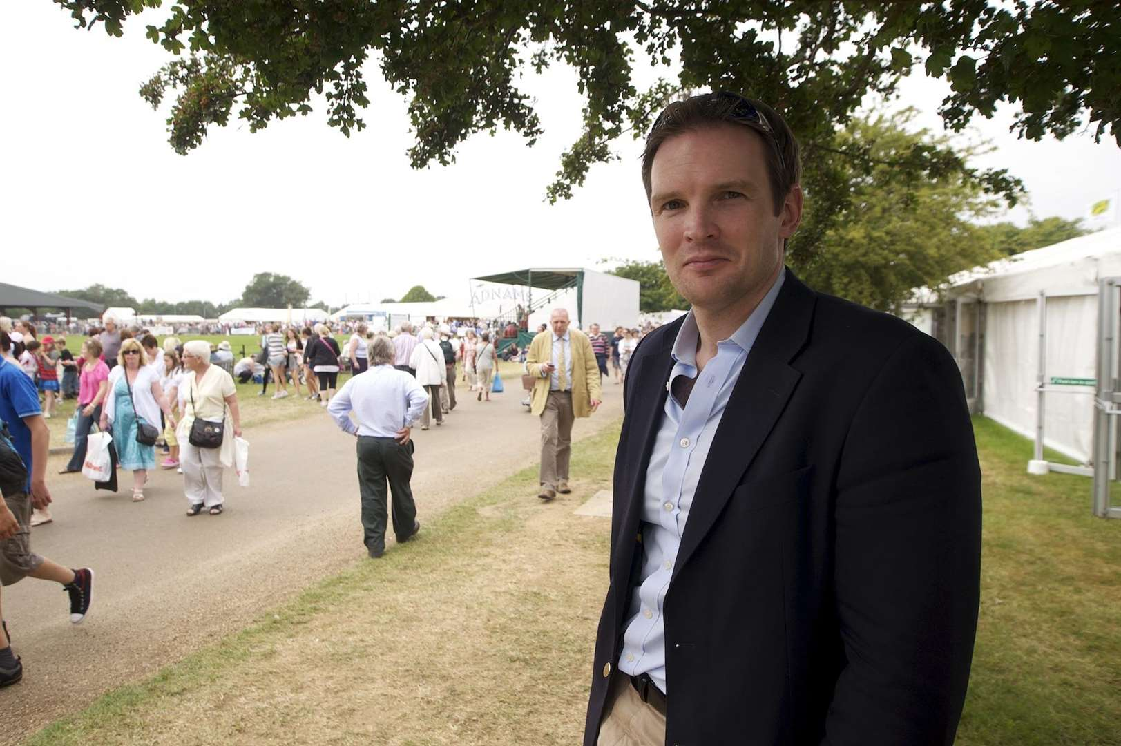 Dr Dan Poulter MP. Photo by Mark Bullimore