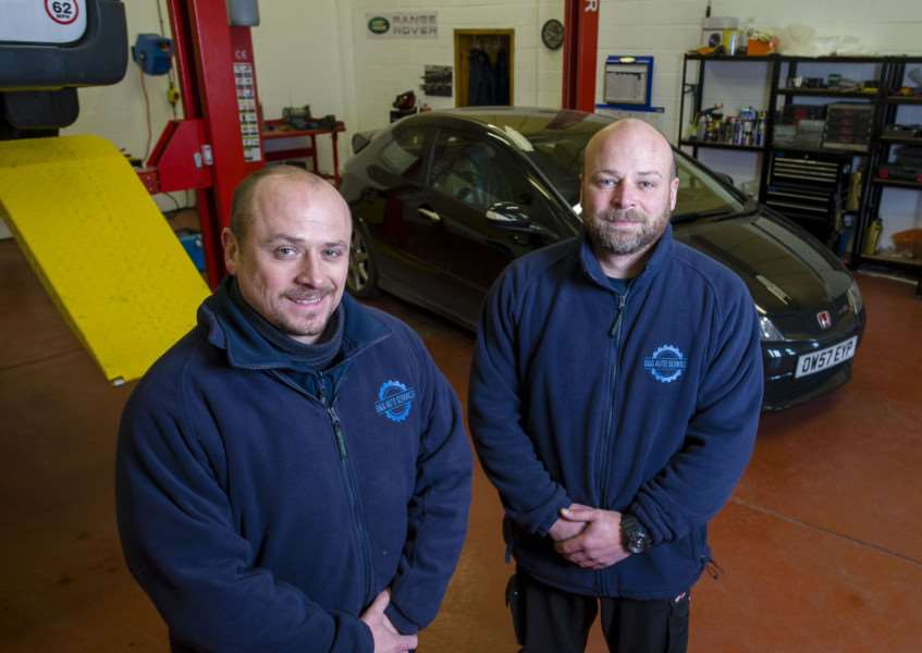 Harleston, Norfolk. Brothers Gary and Shaun Hynd, have opened G&S Auto Services in Harleston ''Picture: MARK BULLIMORE PHOTOGRAPHY