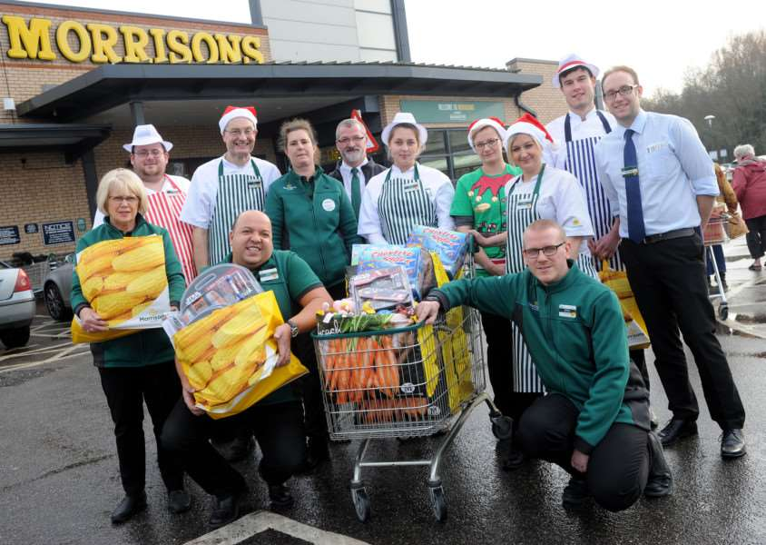 Morrisons Staff in Diss are traveling to EACH Quidenham Hospice to donate presents for Christmas ANL-160712-122006009