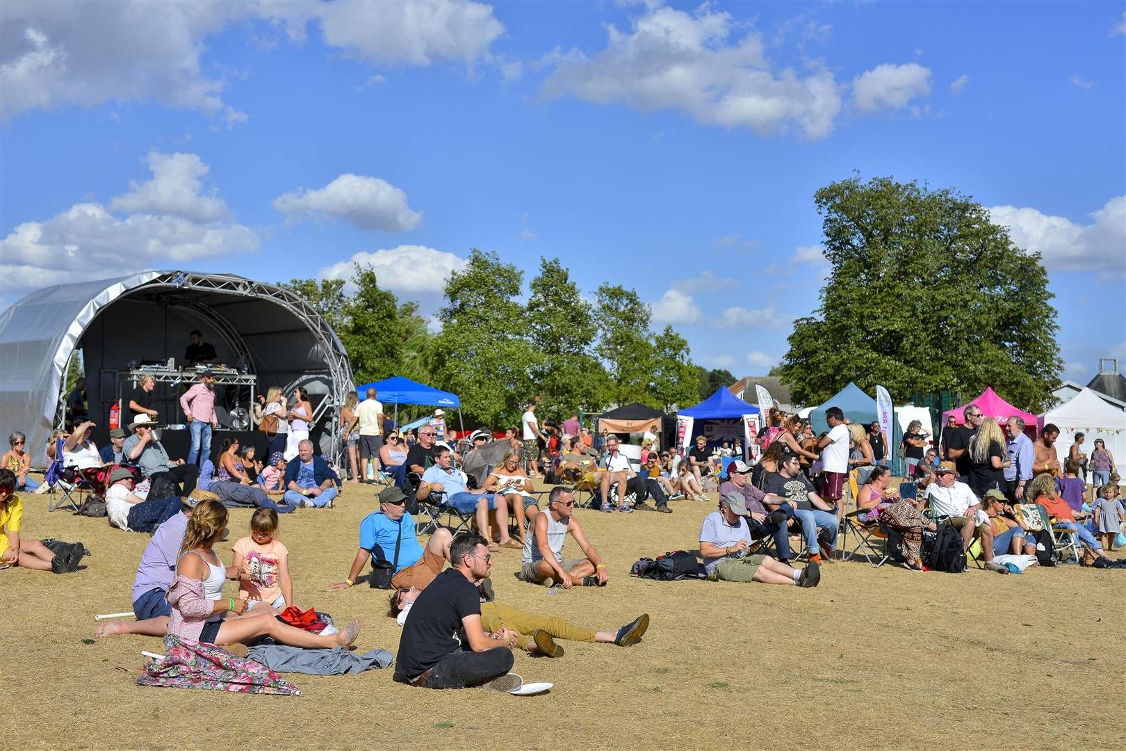 Next year's festival will contain sound via the use of a main marquee.