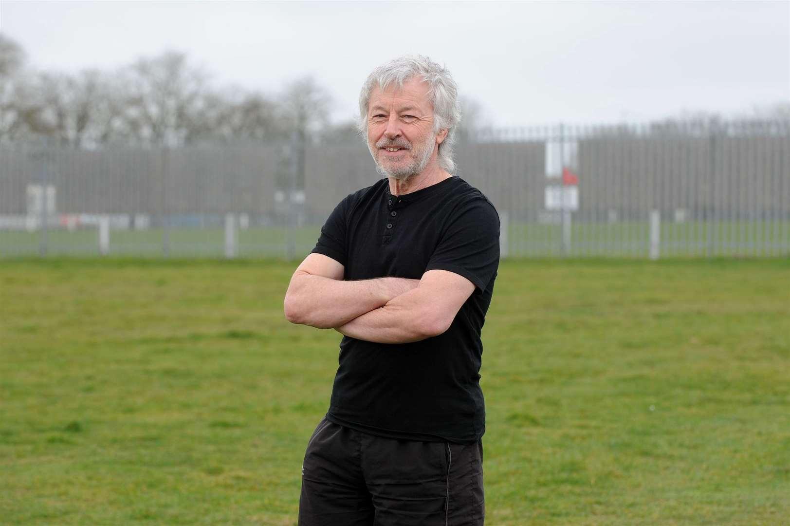 Head coach Howard Oates. Picture: Mecha Morton