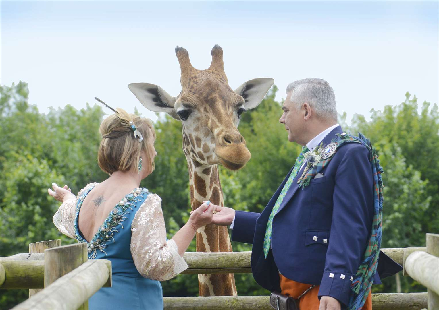 Couples have the chance with Applewood Hall to meet some special animals.Picture: John Goldsmith