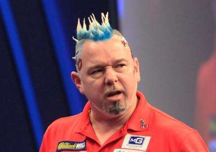 FINAL DEFEAT: Peter Wright was beaten by Gary Anderson on Sunday. Picture: Lawrence Lustig