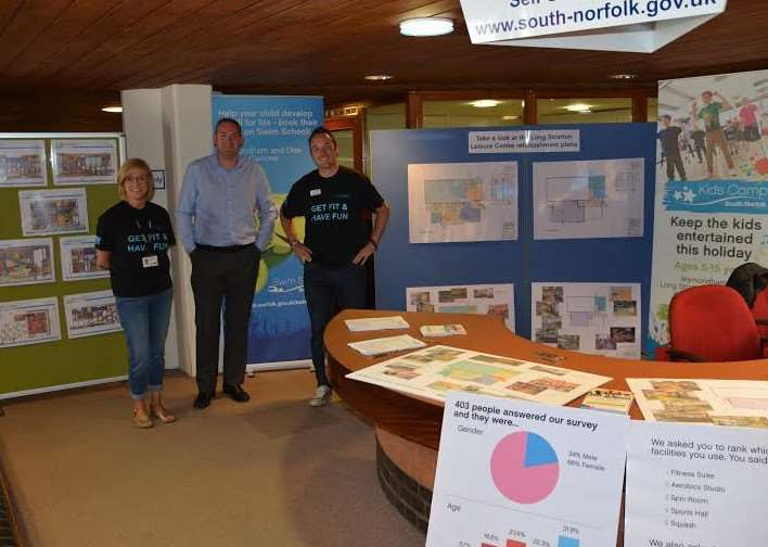 Public consultation on improvements at Long Stratton Leisure Centre has begun.