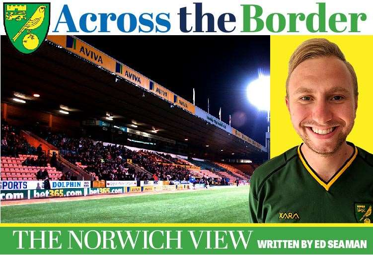Edward Seaman Across the Border: Norwich columnist (6448623)
