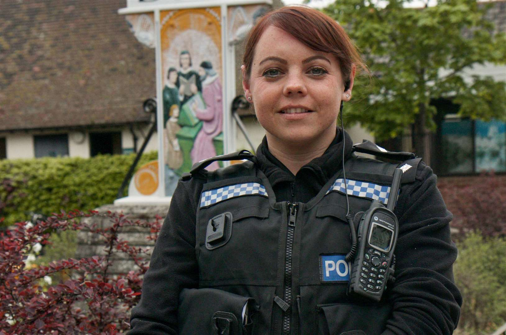Insp Laura Symonds has come to Diss via the tactical firearms and family liasion services, among others. Picture by Chris Morris.