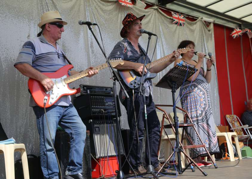 Live music performed at Harleston's Family Fun Day. Submitted picture.