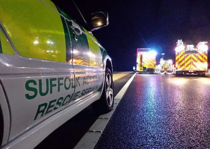 The Suffolk Accident Rescue Service (SARS), founded in 1972 and has been mobilised near Diss, Eye, and along the A140, provides specialist assistance to the ambulance service and responded to more than 300 calls last year.