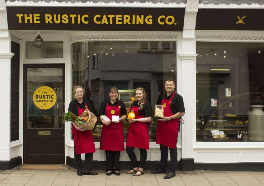 A new Fine Foods Store has opened in Harleston. Photo: Hannah and Hattie Setford.