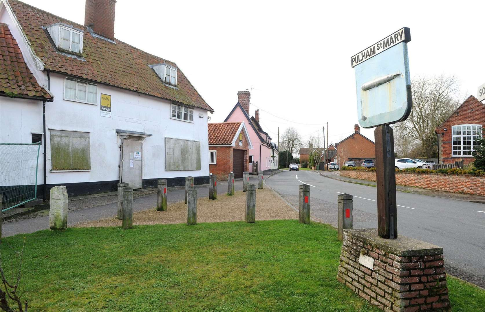 The King's Head in Pulham St Mary has been closed for the last 12 years.
