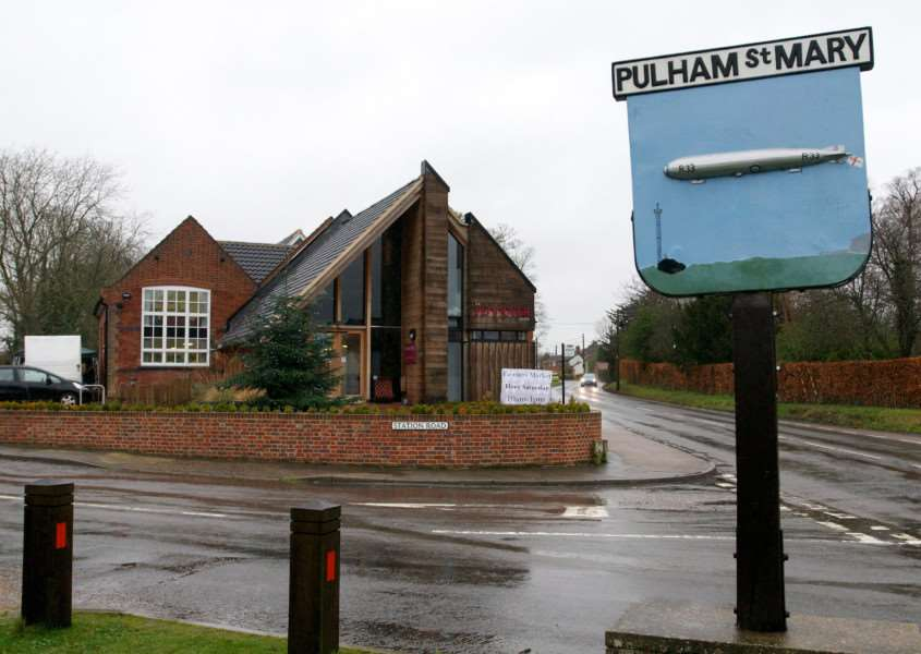 Pulham St Mary, Norfolk. The Pennoyers Centre in Pulham St Mary ENGANL00120121224095059