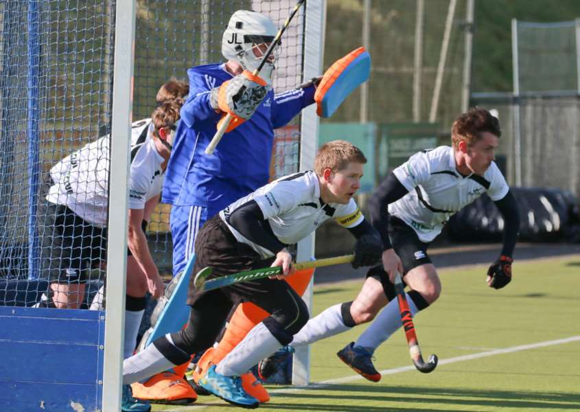 STRONG DEFENCE: Harleston only let in one goal during their victory over Bedford on Saturday