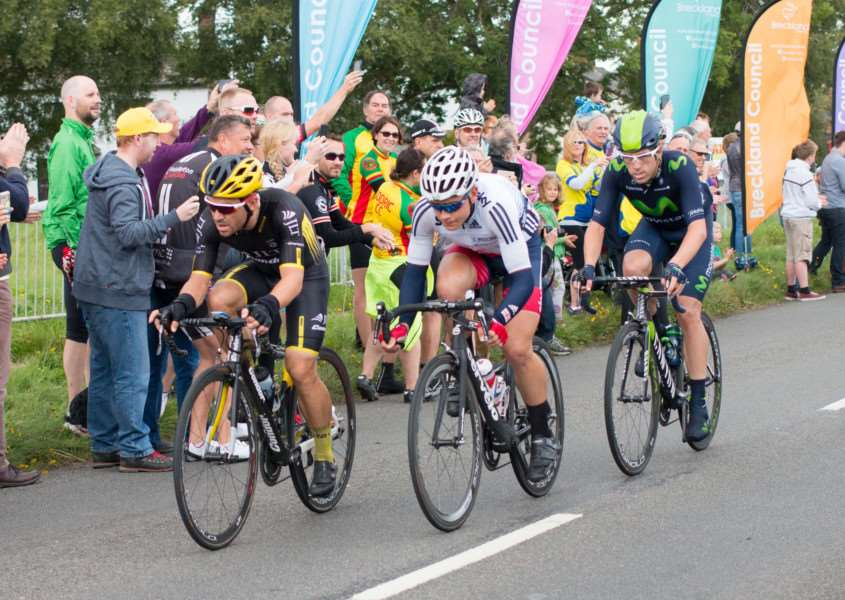 The Tour of Britain rode through Old Buckenham on Saturday, September 12. ANL-150914-143935001